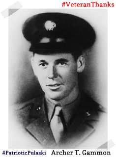 #PatrioticPulaski thanks Archer T. Gammon for his service! #VeteranThanks #PulaskiCountyUSA #ReuniteInPulaski #Army