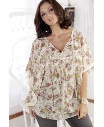 """$64 """"Frock & Frill"""" Frock & Frill Garden Blouse at Simply Be"""