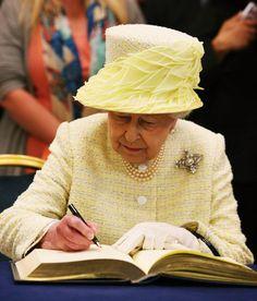 Queen Elizabeth, June 24, 2014 in Angela Kelly | Royal Hats
