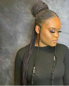 2019 African Hair Braiding Styles : Must See Styles Ruling the Fashion World 2019 Tresses de cheveux africains: Les styles … Latest Braided Hairstyles, Try On Hairstyles, African Braids Hairstyles, Black Girls Hairstyles, Hairstyle Ideas, Hairstyles 2018, Blonde Box Braids, Black Girl Braids, Girls Braids