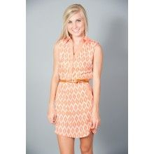 Sunday Brunch Dress-Coral - $48.00