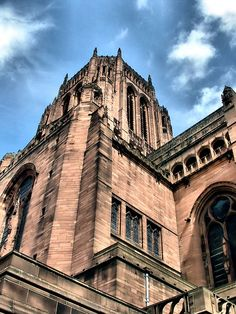 Bummer. This is where I wanted to get married but couldn't because of my husband's family : (  My great grandfather helped to build it.  Liverpool Anglican Cathedral