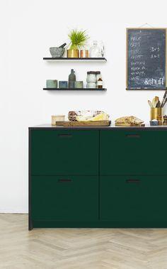 Linoleum Conifer Kitchen by &shufl