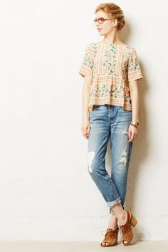 Anthropologie  Koral Relaxed Jeans