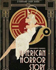 Art Deco Poster for American Horror Story