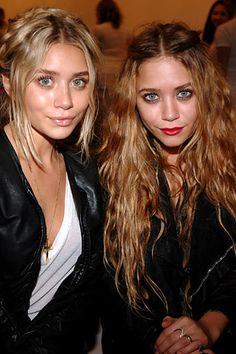Honorary co-chairs Ashley and Mary-Kate Olsen, at the Free Arts NYC benefit.