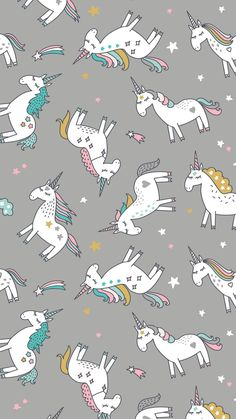 Wallpaper for your phone. Unicornios Wallpaper, Cute Girl Wallpaper, Cute Wallpaper For Phone, Cute Wallpaper Backgrounds, Tumblr Wallpaper, Cellphone Wallpaper, Pattern Wallpaper, Cute Wallpapers, Unicorn Backgrounds