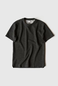 heavy tee - charcoal by the northwestern knitting co.