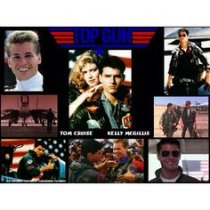 """ALL I CAN SAY IS I COULD PROBABLY WATCH THIS MOVIE ONCE A WEEK FOREVER!! THIS IS A GREAT PHOTO OF DIFFERENT PICTURES THROUGHOUT THE MOVIE AND I REALLY CAN SAY THAT I TRULY LOVE """"TOP GUN"""" AND EVERYTHING THE MOVIE REPRESENTS LIKE MAVERICK & GOOSE AND MY FAVORITE """"MAVERICK & CHARLIE"""" BECAUSE """"CHARLIE"""" IS MY ALL TIME DREAM WOMAN!! FOREVER!!!!!"""