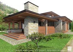 Modern Architecture House, Facade Architecture, Modern Lodge, House Design Pictures, 4 Bedroom House Plans, Duplex House Design, Weekend House, Dream House Exterior, Villa Design