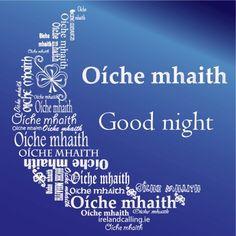 good night in irish - Bing Images