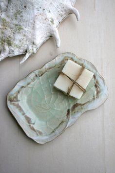 nautilus shell soap dish by earthformsbymarie on Etsy, $14.00 sold