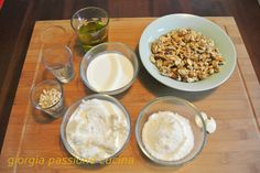 giorgia passione cucina: Salsa di noci Salsa, Cooking Chef, Polenta, My Recipes, Pesto, Mousse, Cereal, Breakfast, Sauces