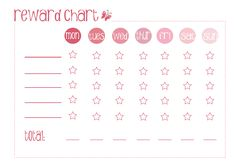 toddler reward chart