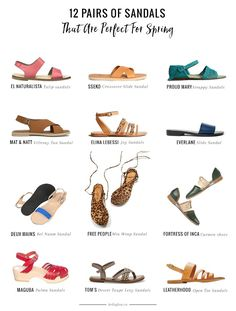 12 Pairs of Sandals That Are Perfect For Spring
