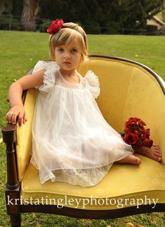 The Melanie Flower Girl Lace Dress made for by kailynzoeandco, $74.95