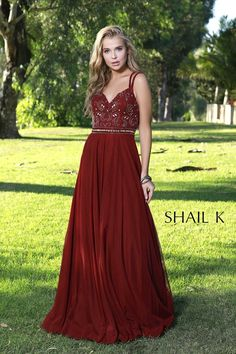 Double Strap Cross Back Fit To Flare Dress 12158  #dressoftheday #prom #ootd #shailkusa #fashion