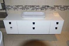 Ex-Display Burgbad Bel Range unit Vanity Unit + Basin & Mirror Cabinet bathroom Bathroom Mirror Cabinet, Mirror Cabinets, Vanity Units, Basin, The Unit, Range, Display, Home Decor, Floor Space