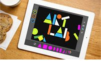 """The MoMA #Art Lab #app is awesome! Beth's son """"squishy"""" loves it."""