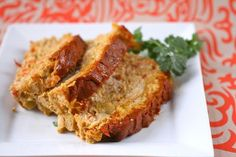 Indian Spiced Turkey Meatloaf with Spicy Indian Ketchup!