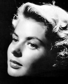 Ingrid Bergman a classic beauty.