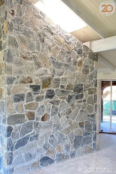 The mid-grey colour and warm tones of our Cape Loose Walling will look amazing on your next project. A universally appealing option as it can suit all styles and designs, the versatility of this stone is limitless. #stone #loosestone #groutedstone #stonewall #hamptons
