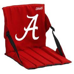Coleman Alabama Crimson Tide Crimson Stadium Seat Cushion