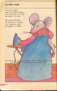 Libros de Primaria de los 80's: Mi libro de segundo parte 1 (2/2) La rata vieja