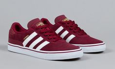 adidas Skateboarding Busenitz Vulc New skate shoes needed Cheap Running Shoes, Adidas Running Shoes, Adidas Shoes Women, Sneakers Mode, Sneakers Fashion, Fashion Shoes, Sneakers Style, Women's Fashion, Tenis Adidas Skate