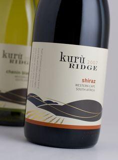Kurù Ridge – contemporary South African #taninotanino #vinosmaximum