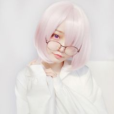 Cosplay Ideas FGO Mash Kyrielight cosplay wig - Color: pink Material: high temperature matt wire Size: Length: inch About color Cosplay Wigs, Anime Cosplay, Cosplay Costumes, Cosplay Ideas, Costume Ideas, Kawaii Wigs, Pastel Goth Fashion, Kawaii Cosplay, Uzzlang Girl