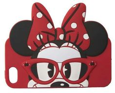 Nerdy mini mouse phone case