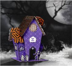 The September Bone Appétit Paper Pumpkin Kit contains supplies for 20 treat boxes! Halloween Treat Boxes, Halloween Cards, Halloween Treats, Halloween House, Christmas Makes, Christmas Tag, Kit, Giveaway, Stampin Up Paper Pumpkin