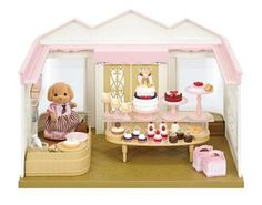 Superb Sylvanian Families Village Cake Shop Now at Smyths Toys UK. Shop for Sylvanian Families At Great Prices. Sylvanian Families, Baby Hamster, Baking Utensils, House Cake, Strawberry Cakes, Mattress Brands, Cake Shop, Coming Of Age, Space Furniture