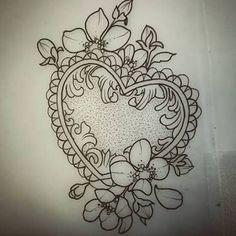 Resultado de imagem para tatuagem de coraçao com fechadura