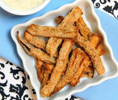 Baked Eggplant Fries | Vegan Recipe via One Green Planet
