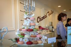 Chantal Guillon's macarons are almost as good as the best we found in Paris!