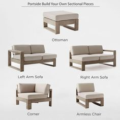 Build Your Own Portside Sectional