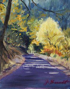 Original Oil Painting LANDSCAPE Impressionist by JBeaudetStudios, $100.00