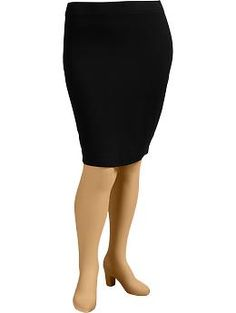Women's Plus Jersey Pencil Skirts | Old Navy
