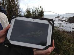 Vista de la Aplicación móvil Trekkapp utilizada para hacer la Ruta de la playa de la Isla a la de La Griega en Colunga, Asturias #rutasPorElParaiso