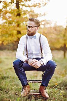 40 Handsome Men Looks with Suspenders | 3), Men looks and Suspenders