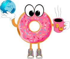 Donut World Donut World, Donuts, Tweety, Restaurant, Fictional Characters, Art, Character, Drawings, Frost Donuts