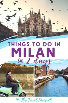 With only 2 days in Milan, you need to be selective. These are my top recommendations for what to see in Milan in 2 days so you can enjoy a wonderful weekend in Milan! | Italy | Things to do in Milan | Il Duomo | Shopping | Italian Food | Milan City Guide | 2 Day Milan Itinerary European Travel Tips, Italy Travel Tips, Europe Travel Guide, Rome Travel, Italy Destinations, Voyage Europe, Visit Italy, Cool Places To Visit, Travel Ideas