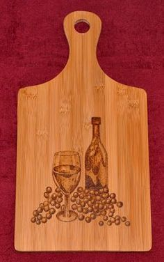Wood-Burning Cutting Board - i want this one :-)