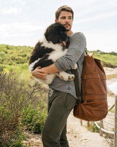 josh hartnett & his dog
