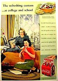 Vintage Coca-Cola 1939