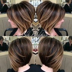 Textured Layered Dimensional Style - Short Bob Haircuts for Women