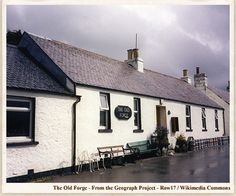 MOST REMOTE PUB UK The Old Forge Inverie, Knoydart, Scotland The Old Forge at Inverie, Knoydart, is officially the 'remotest pub in Scotland' according to the Guinness Book of Records. Inverie huddles on the north shore of Loch Nevis under the shadow of Sgurr Coire Choinnichean and can only be reached by boat. There are no connecting roads to the village but it is possible to hike across the Munro Mountains if the weather is suitable and 18 kilometres of rough terrain doesn't intimidate.