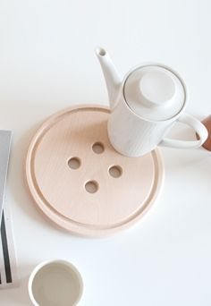 Button Trivet. Cute as a button!